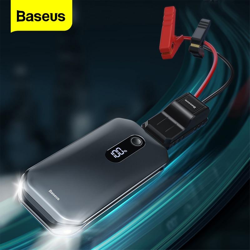 בוסטר הנעה חדש ומשודרג Baseus 12000mAh 1000A